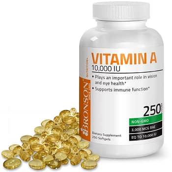 Bronson Vitamins Labs Vitamin A