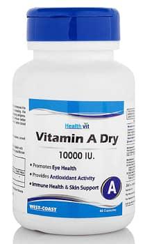 Healthvit Vitamin A Dry 10000 IU